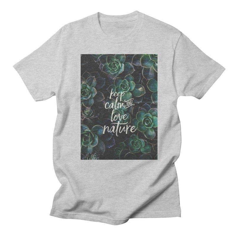 nature Men's T-shirt by omelette