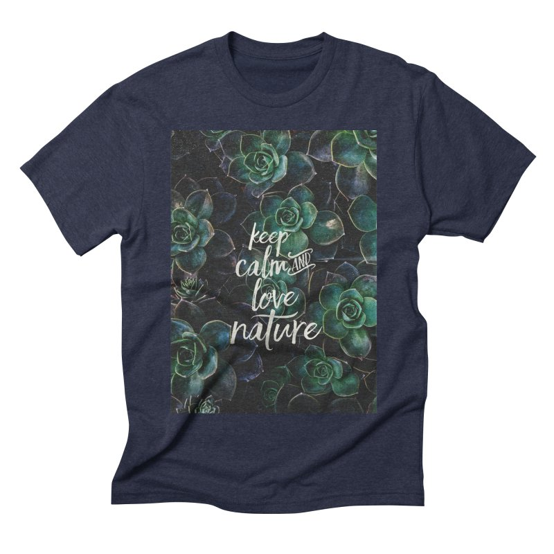 nature Men's Triblend T-shirt by omelette
