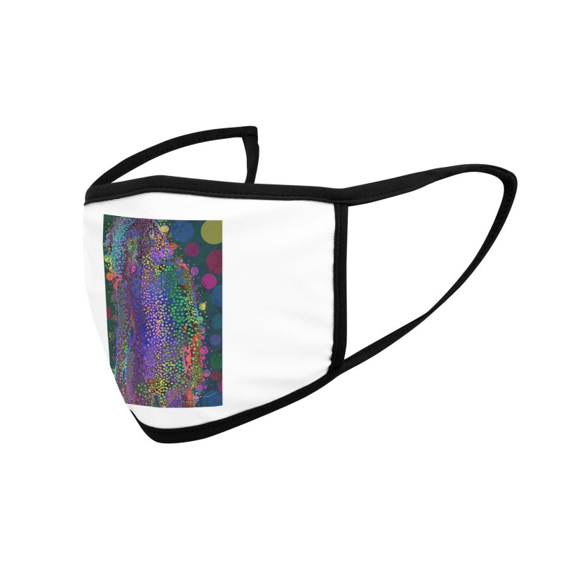 DAZZLING WOMAN Accessories Face Mask by strawberrymonkey's Artist Shop