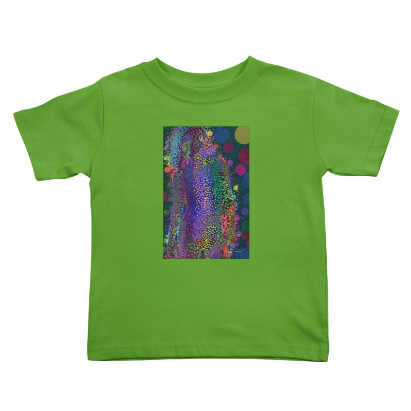 DAZZLING WOMAN Kids Toddler T-Shirt by strawberrymonkey's Artist Shop