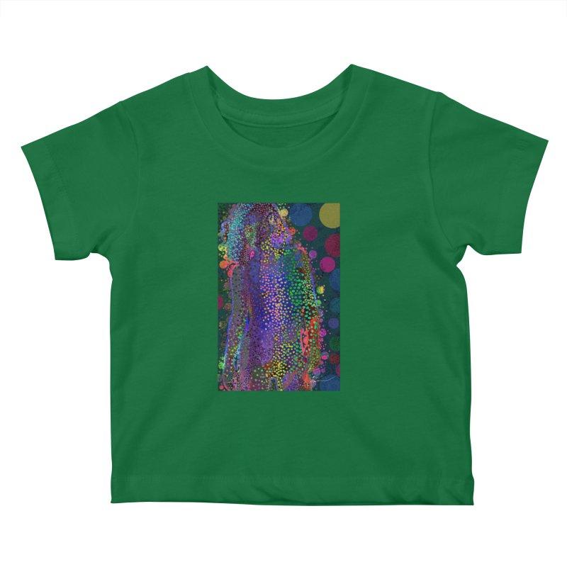 DAZZLING WOMAN Kids Baby T-Shirt by strawberrymonkey's Artist Shop