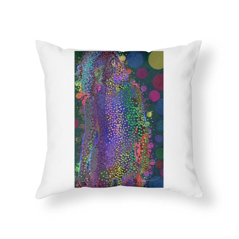 DAZZLING WOMAN Home Throw Pillow by strawberrymonkey's Artist Shop