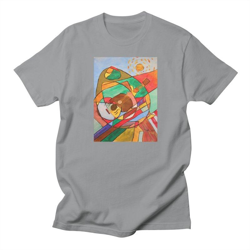 THE GUITARIST Women's Regular Unisex T-Shirt by strawberrymonkey's Artist Shop