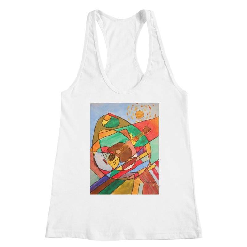 THE GUITARIST Women's Tank by strawberrymonkey's Artist Shop