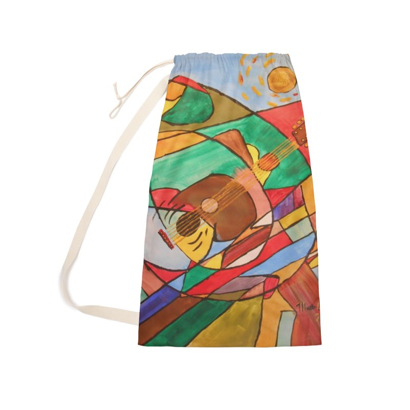 THE GUITARIST Accessories Bag by strawberrymonkey's Artist Shop