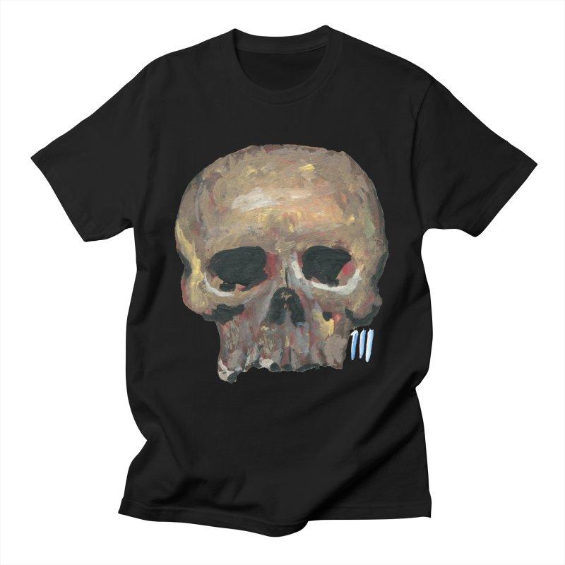 SKULL091815 Men's T-Shirt by strawberrymonkey's Artist Shop