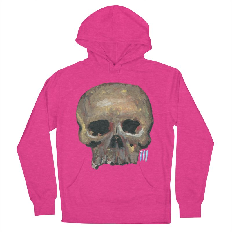 SKULL091815 Women's French Terry Pullover Hoody by strawberrymonkey's Artist Shop
