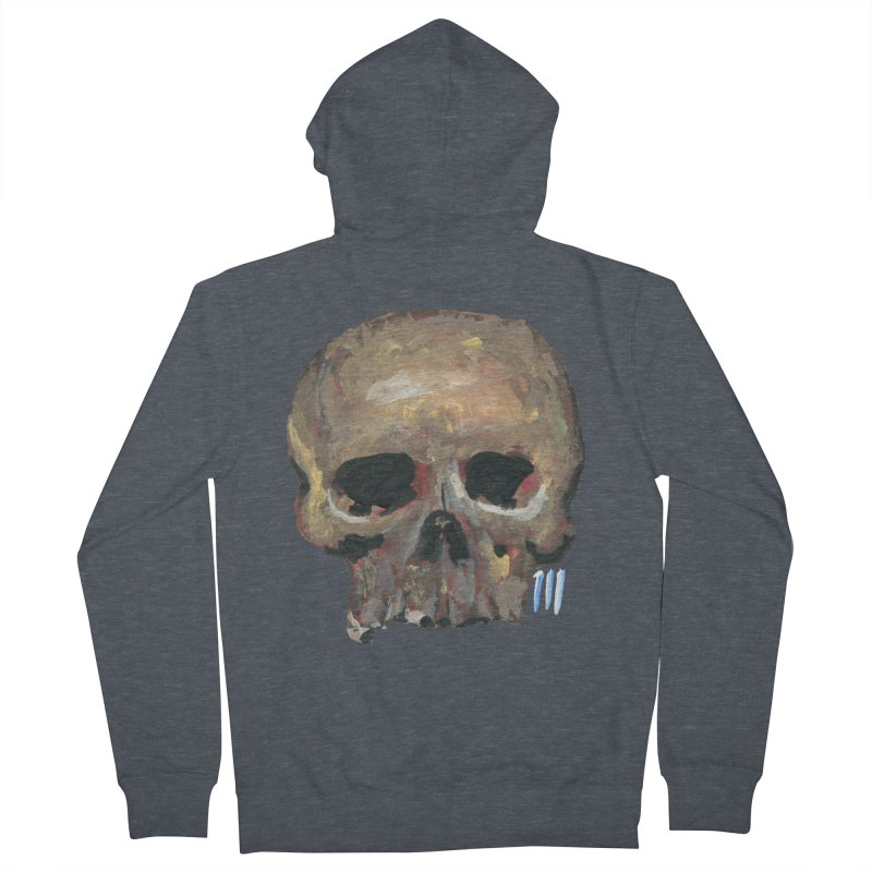 SKULL091815 Women's Zip-Up Hoody by strawberrymonkey's Artist Shop