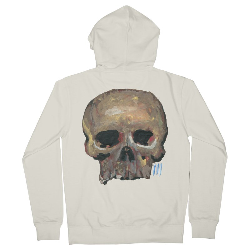 SKULL091815 Men's Zip-Up Hoody by strawberrymonkey's Artist Shop