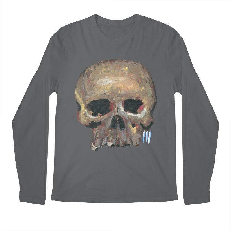 SKULL091815 Men's Longsleeve T-Shirt by strawberrymonkey's Artist Shop