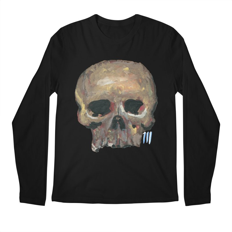 SKULL091815 Men's Longsleeve T-Shirt by strawberrymonkey's Artist Shop