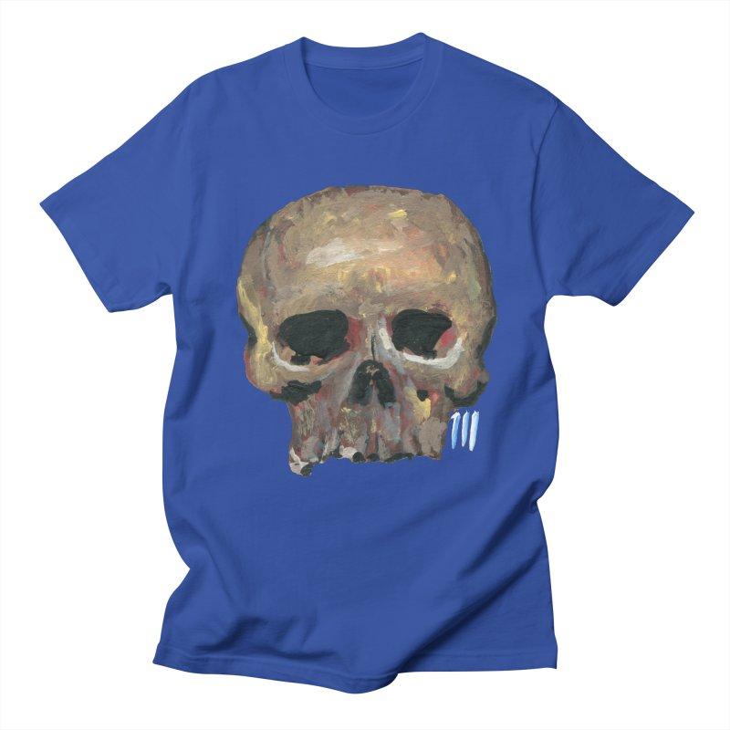SKULL091815 Men's Regular T-Shirt by strawberrymonkey's Artist Shop