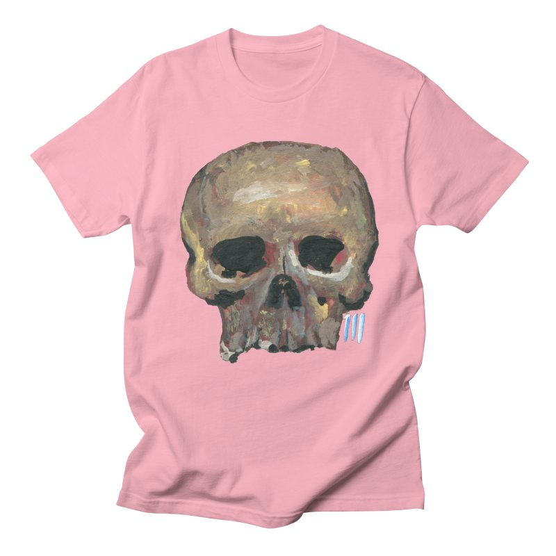 SKULL091815 Men's Regular T-Shirt by strawberrymonkey's Artist Shop