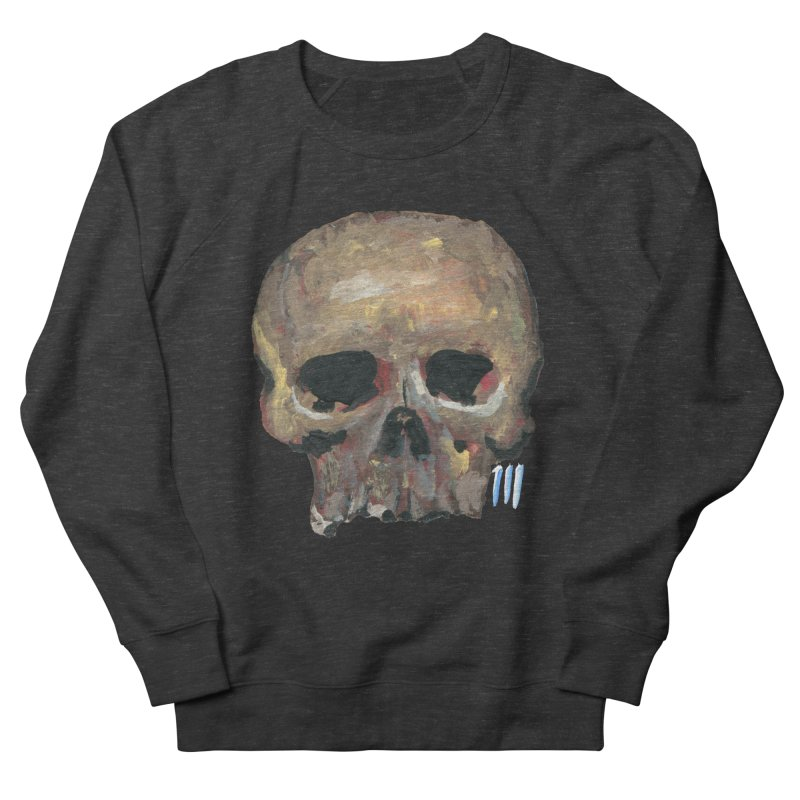 SKULL091815 Men's Sweatshirt by strawberrymonkey's Artist Shop