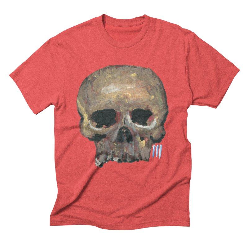 SKULL091815 Men's Triblend T-Shirt by strawberrymonkey's Artist Shop