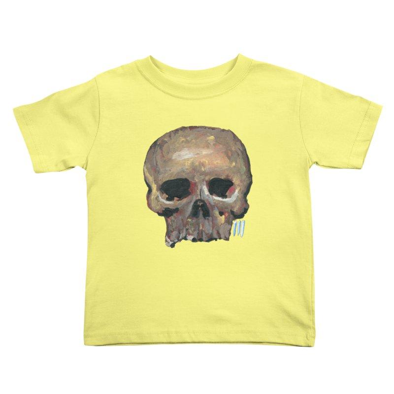 SKULL091815 Kids Toddler T-Shirt by strawberrymonkey's Artist Shop