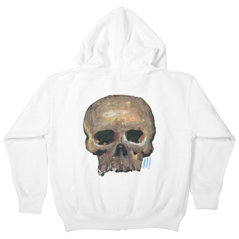 SKULL091815 Kids Zip-Up Hoody by strawberrymonkey's Artist Shop