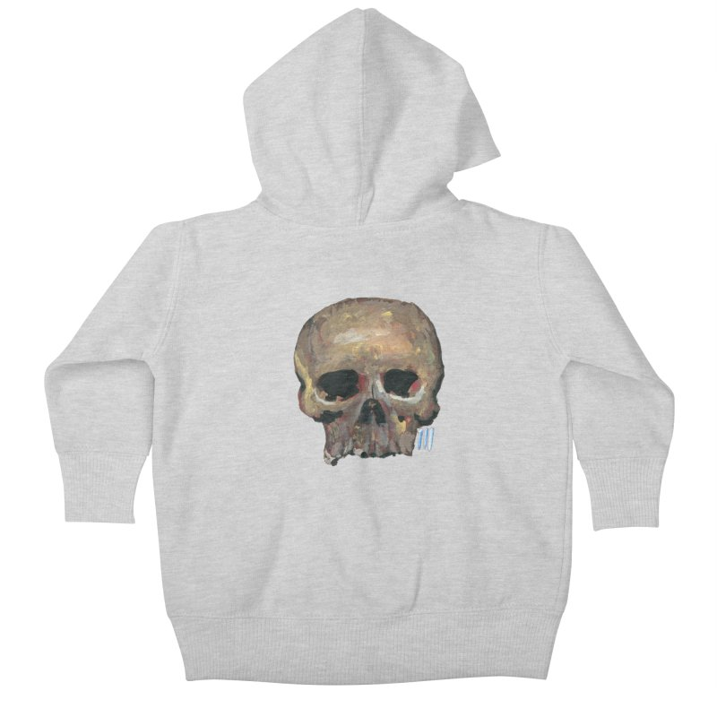 SKULL091815 Kids Baby Zip-Up Hoody by strawberrymonkey's Artist Shop