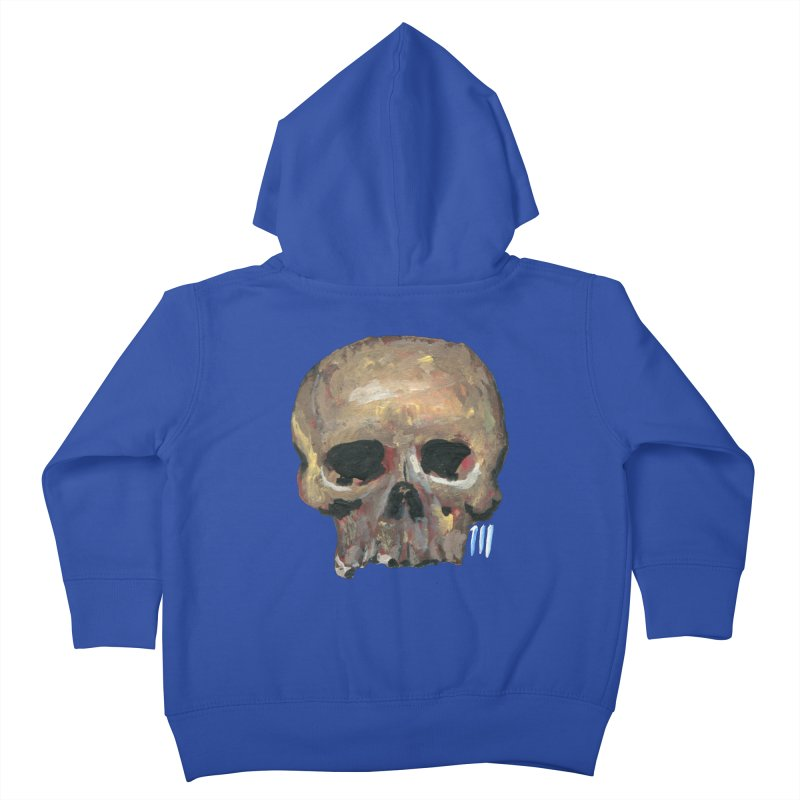 SKULL091815 Kids Toddler Zip-Up Hoody by strawberrymonkey's Artist Shop