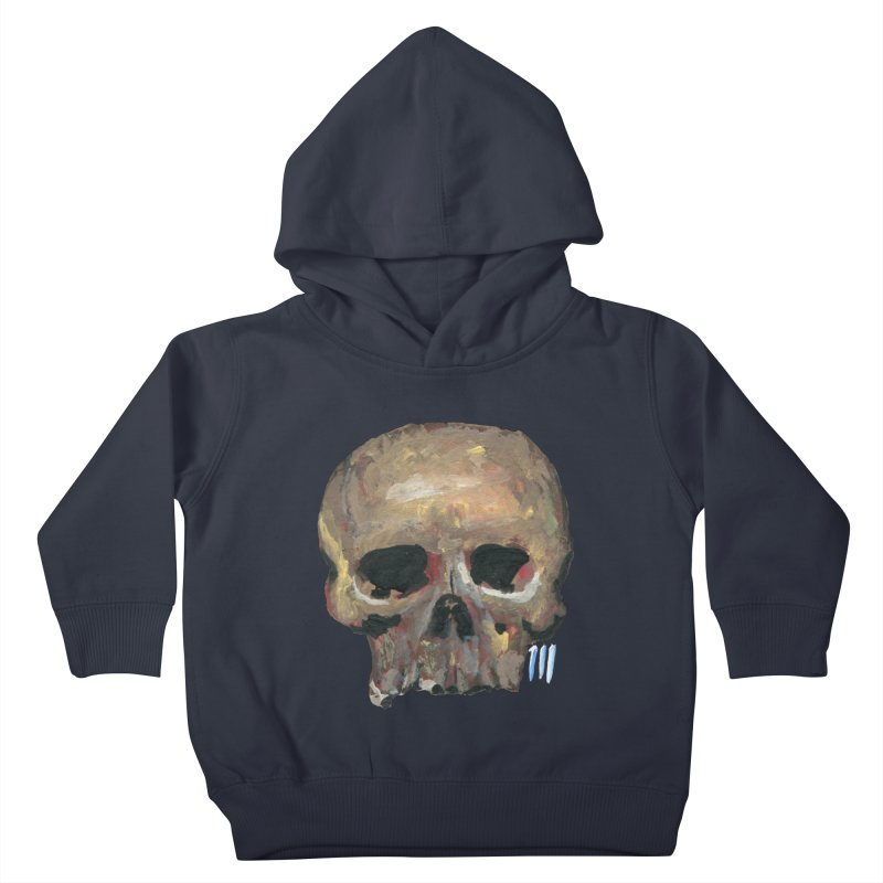SKULL091815 Kids Toddler Pullover Hoody by strawberrymonkey's Artist Shop