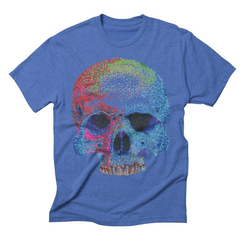 SKULL COLORFUL Men's T-Shirt by strawberrymonkey's Artist Shop