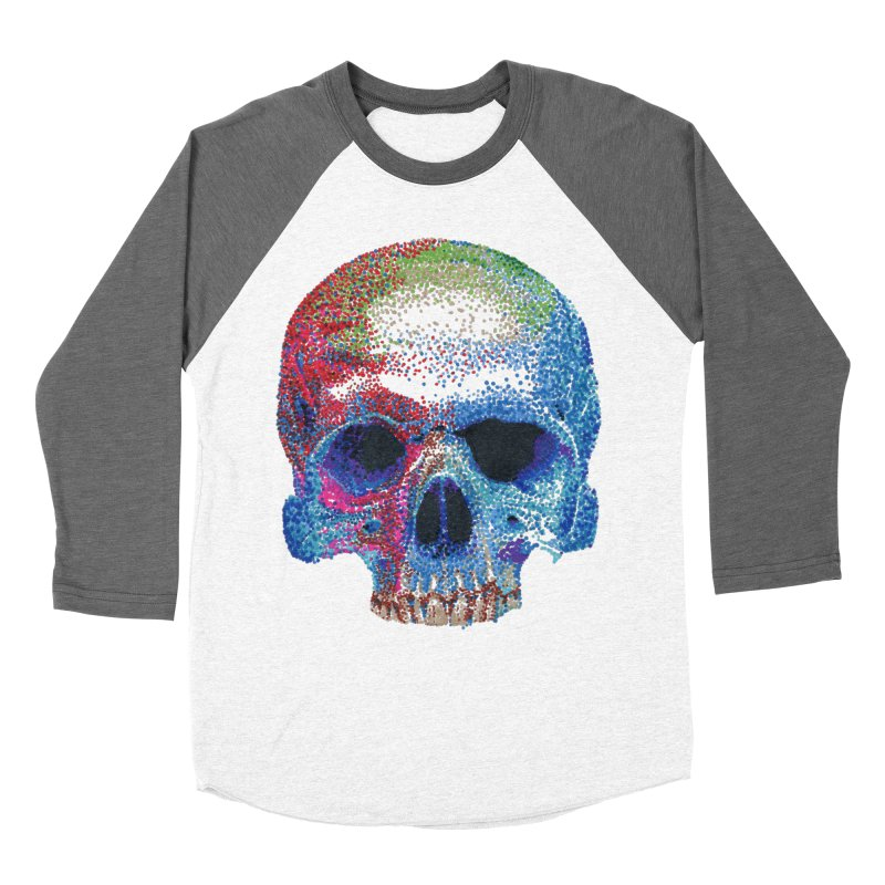 SKULL COLORFUL Women's Longsleeve T-Shirt by strawberrymonkey's Artist Shop