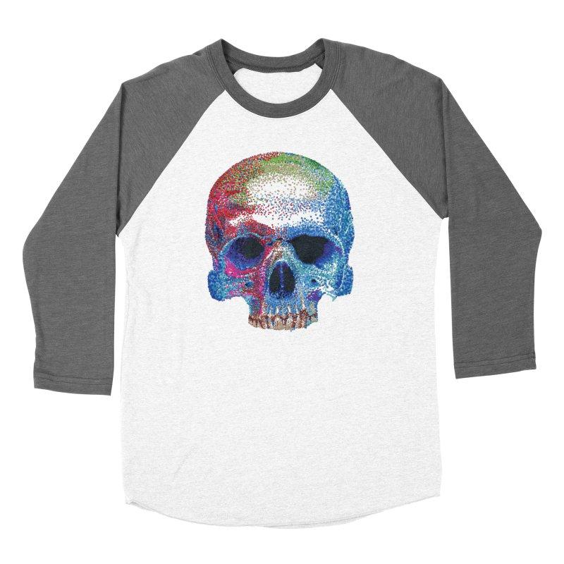 SKULL COLORFUL Women's Longsleeve T-Shirt by strawberrymonkey's Artist Shop