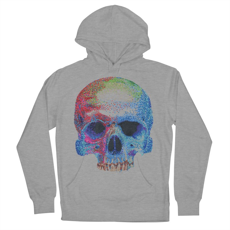 SKULL COLORFUL Men's Pullover Hoody by strawberrymonkey's Artist Shop