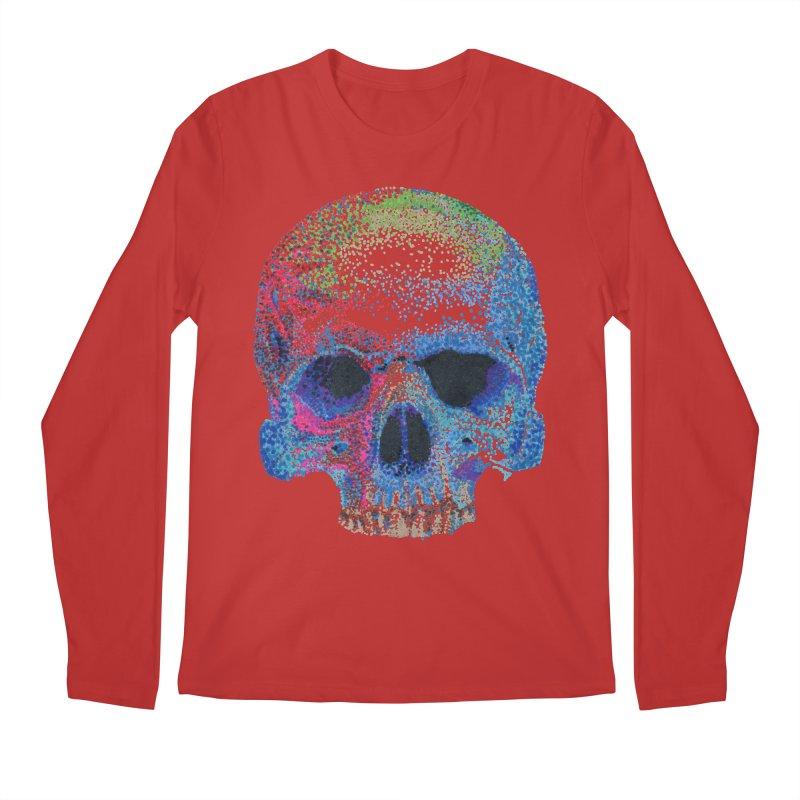 SKULL COLORFUL Men's Longsleeve T-Shirt by strawberrymonkey's Artist Shop