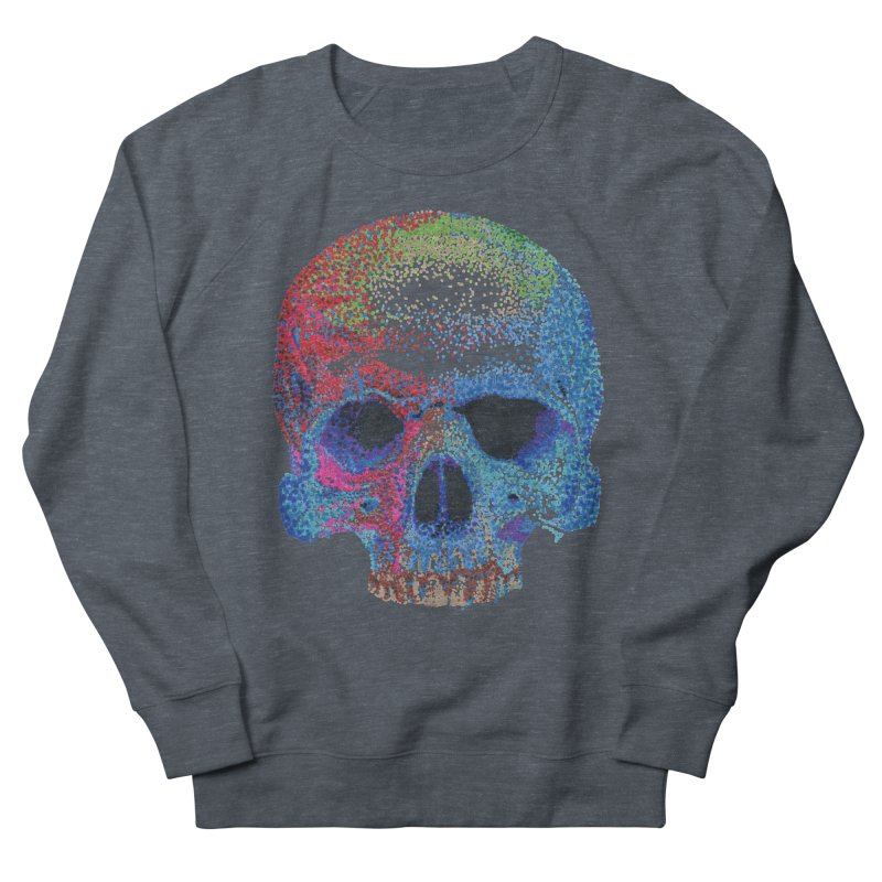 SKULL COLORFUL Women's Sweatshirt by strawberrymonkey's Artist Shop