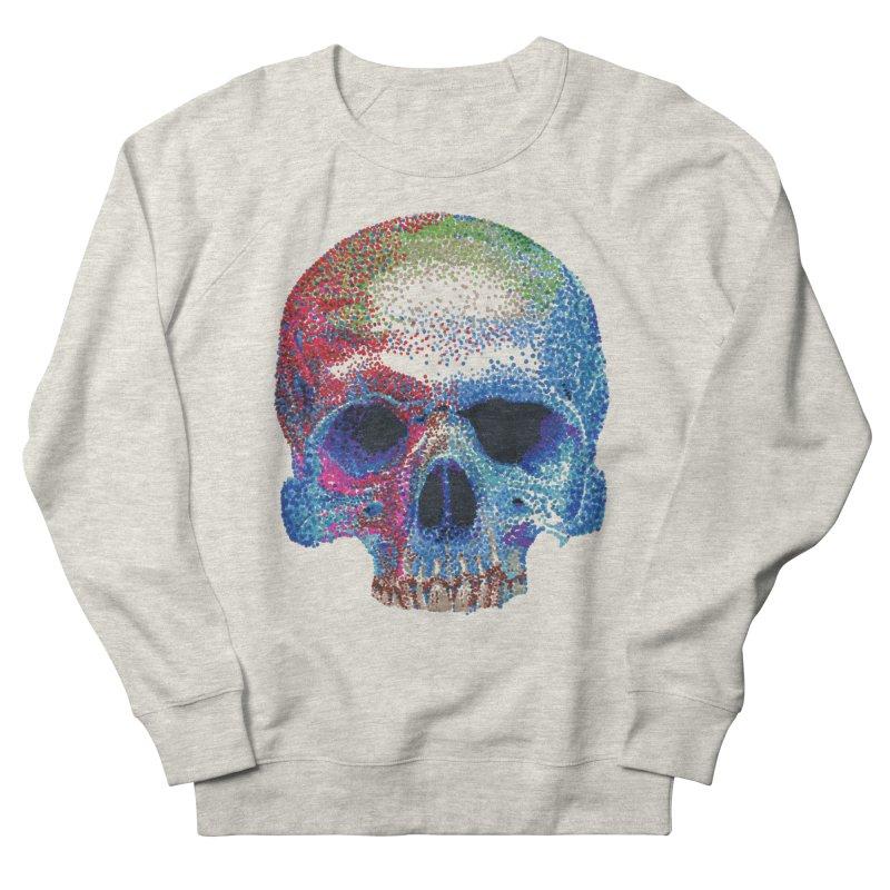 SKULL COLORFUL Women's Sweatshirt by strawberrymonkey's Artist Shop