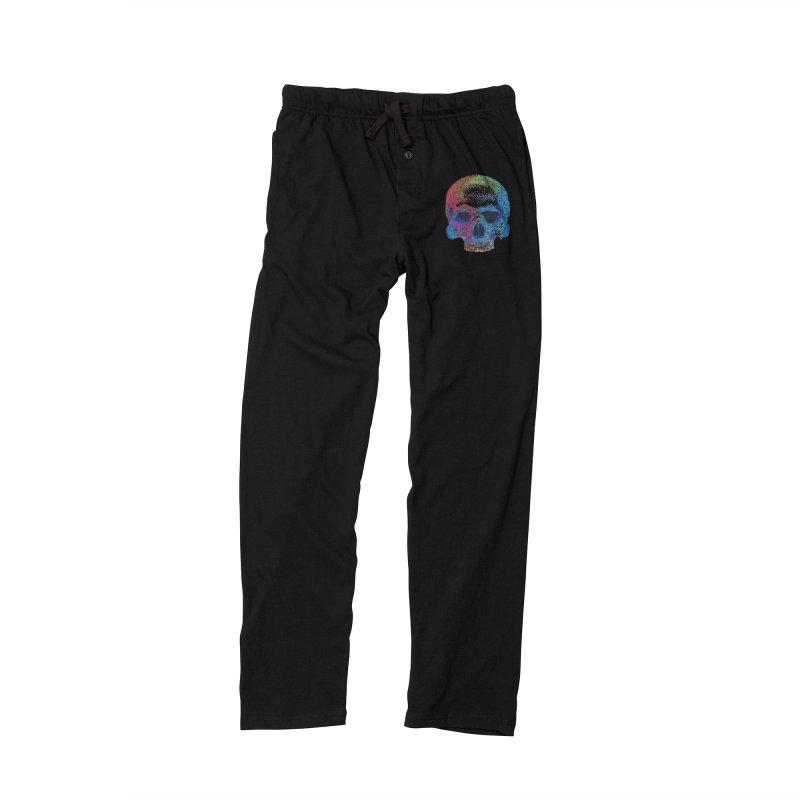SKULL COLORFUL Men's Lounge Pants by strawberrymonkey's Artist Shop
