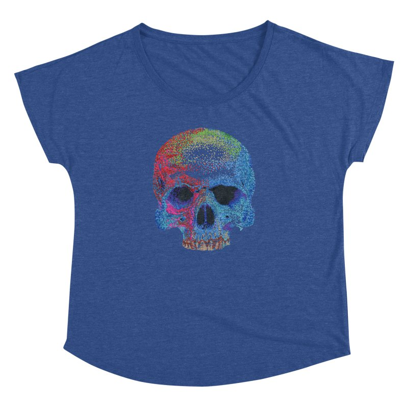 SKULL COLORFUL Women's Dolman by strawberrymonkey's Artist Shop