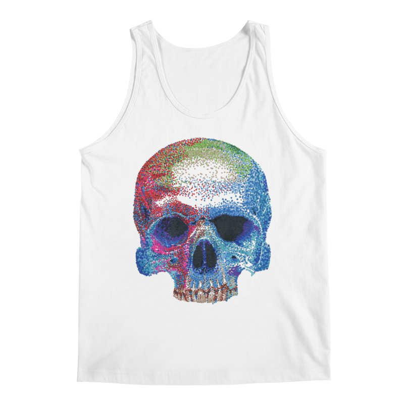 SKULL COLORFUL Men's Regular Tank by strawberrymonkey's Artist Shop