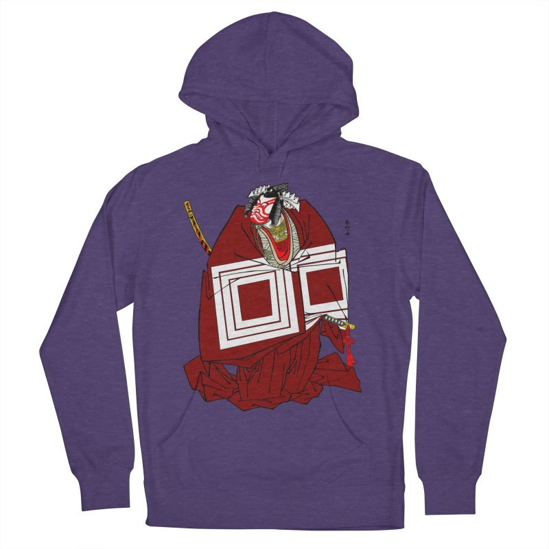 ICHIKAWA PERFORMS Men's French Terry Pullover Hoody by strawberrymonkey's Artist Shop
