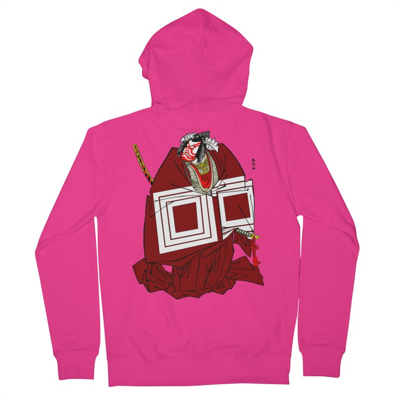 ICHIKAWA PERFORMS Men's Zip-Up Hoody by strawberrymonkey's Artist Shop