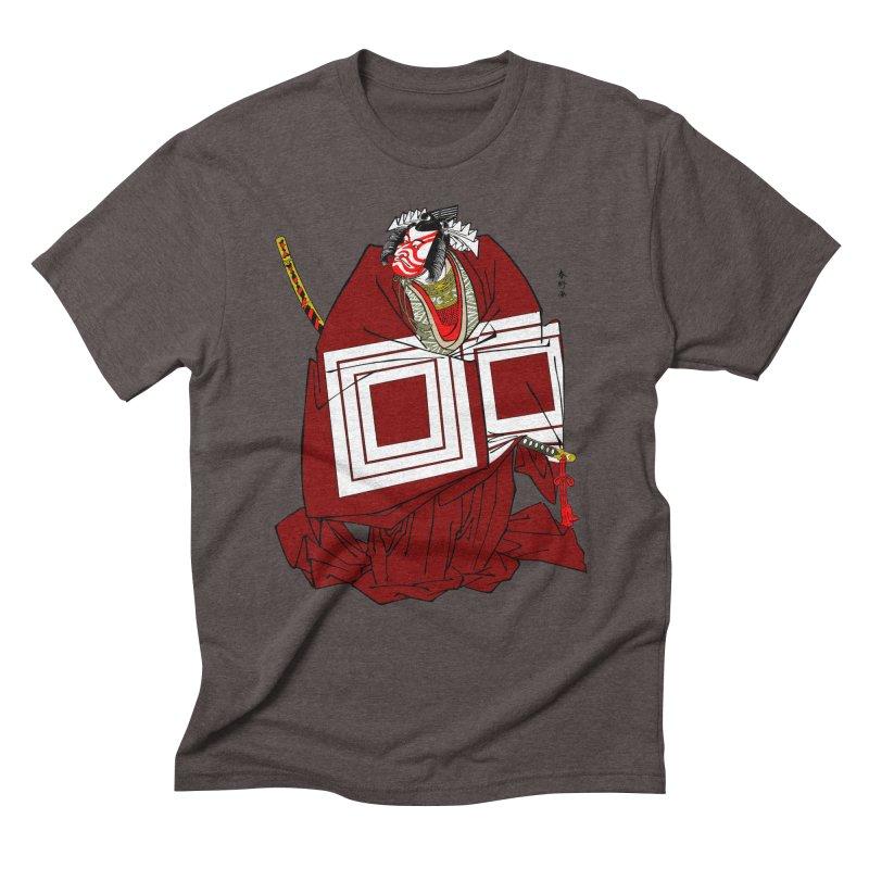 ICHIKAWA PERFORMS Men's Triblend T-Shirt by strawberrymonkey's Artist Shop