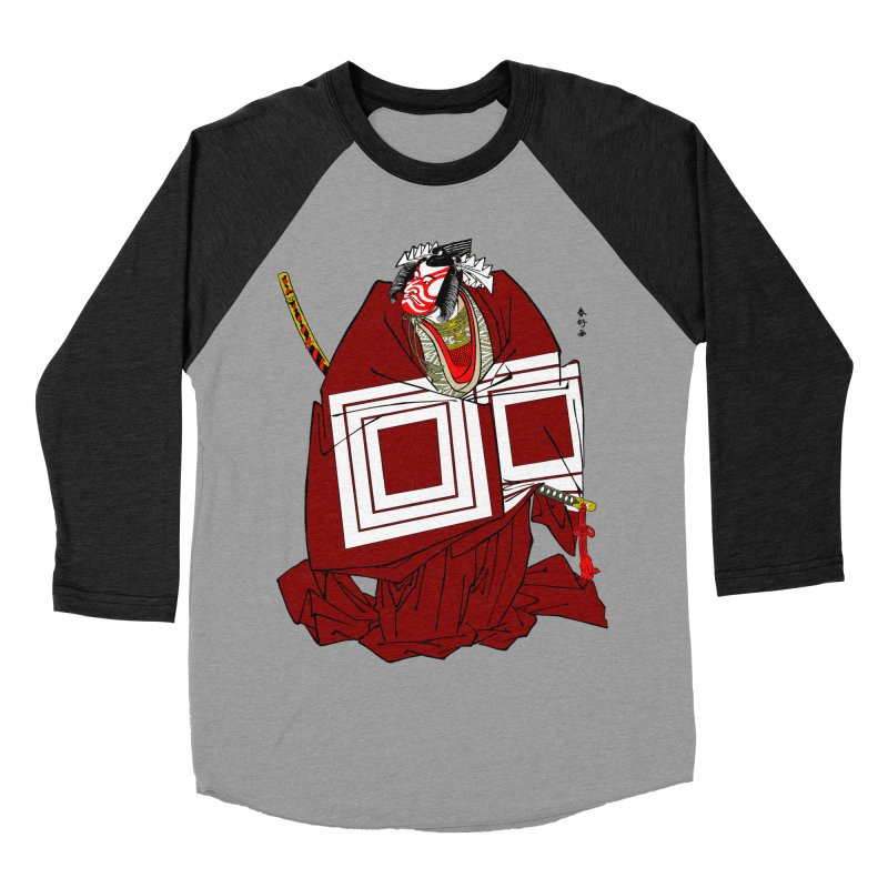 ICHIKAWA PERFORMS Women's Baseball Triblend Longsleeve T-Shirt by strawberrymonkey's Artist Shop