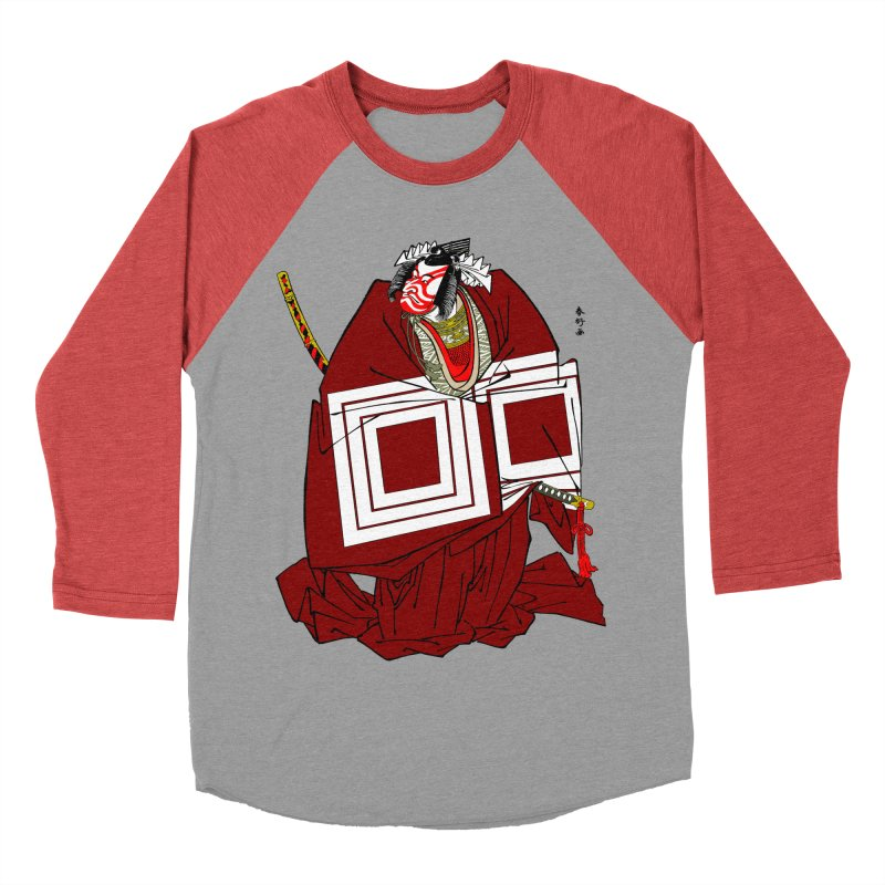 ICHIKAWA PERFORMS Men's Baseball Triblend T-Shirt by strawberrymonkey's Artist Shop