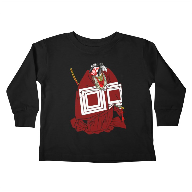 ICHIKAWA PERFORMS Kids Toddler Longsleeve T-Shirt by strawberrymonkey's Artist Shop