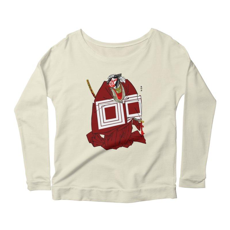 ICHIKAWA PERFORMS Women's Scoop Neck Longsleeve T-Shirt by strawberrymonkey's Artist Shop