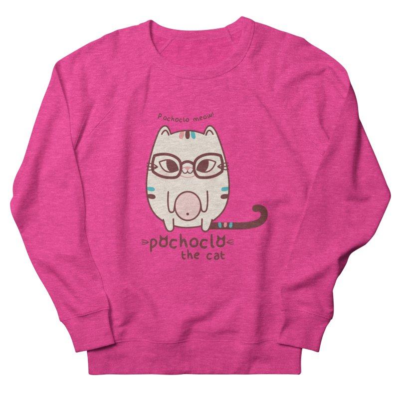 Pochoclo The Cat Women's Sweatshirt by strawberrystyle's Artist Shop