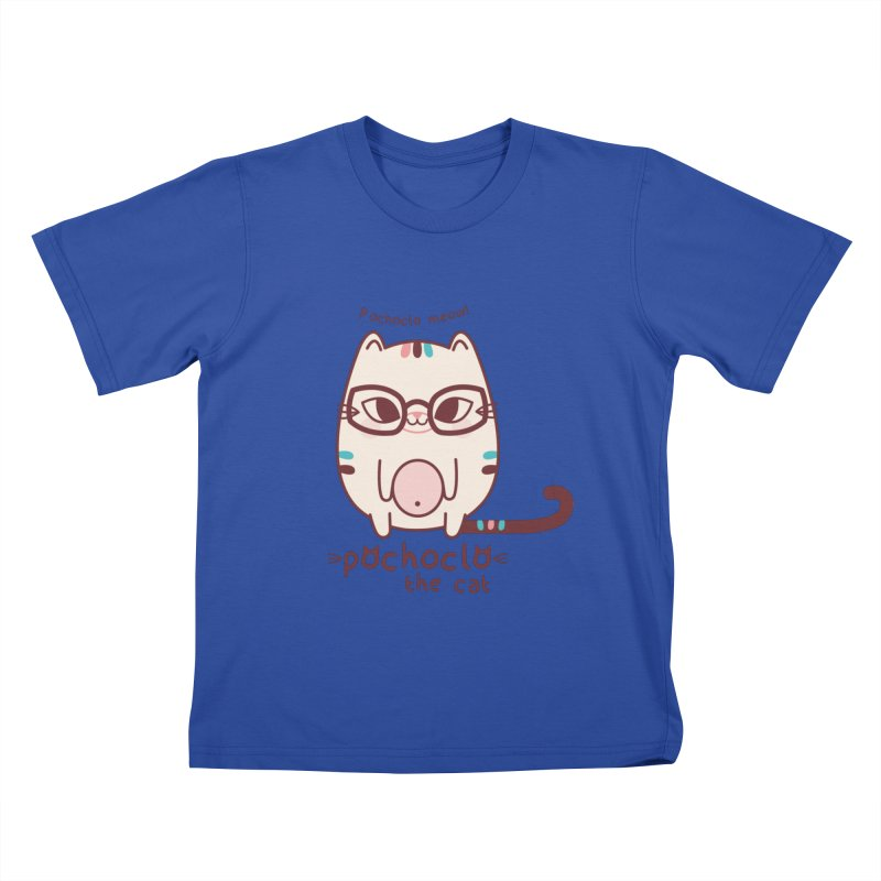 Pochoclo The Cat Kids T-Shirt by strawberrystyle's Artist Shop