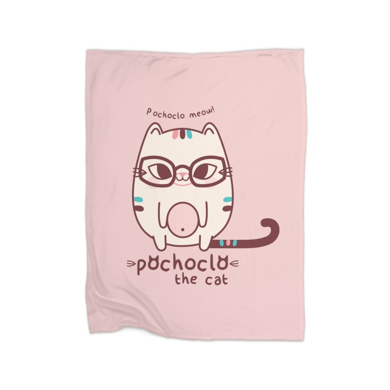Pochoclo The Cat Home Blanket by strawberrystyle's Artist Shop