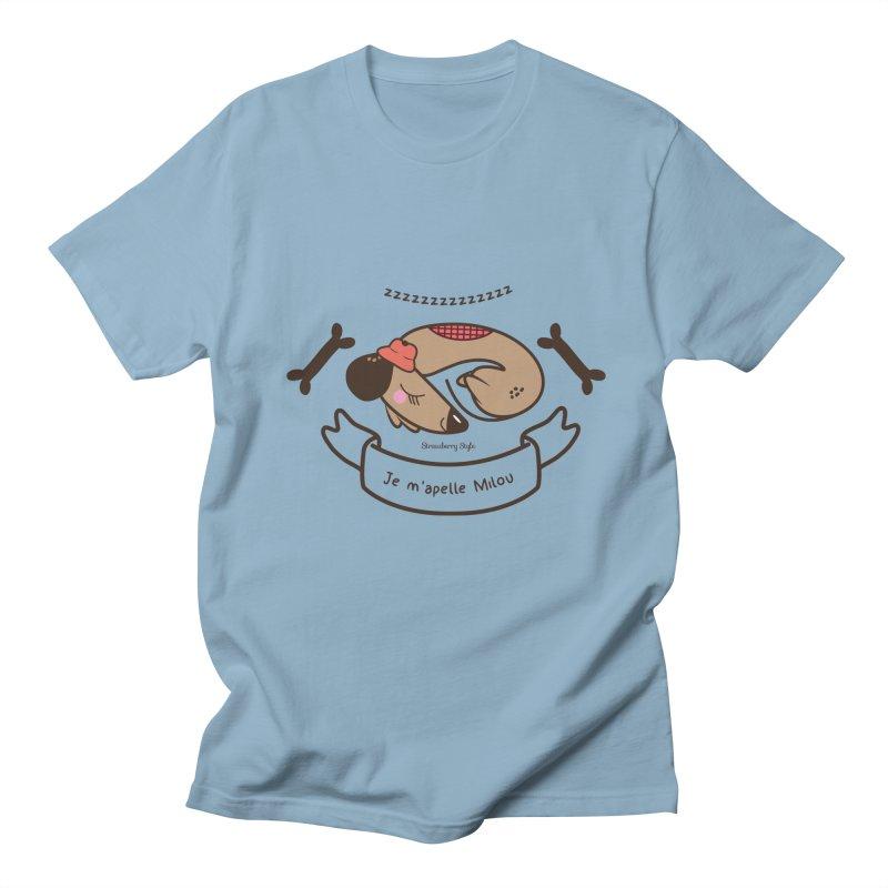 Je m'appelle Milou Women's Unisex T-Shirt by strawberrystyle's Artist Shop