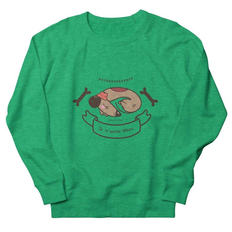 Je m'appelle Milou Men's Sweatshirt by strawberrystyle's Artist Shop