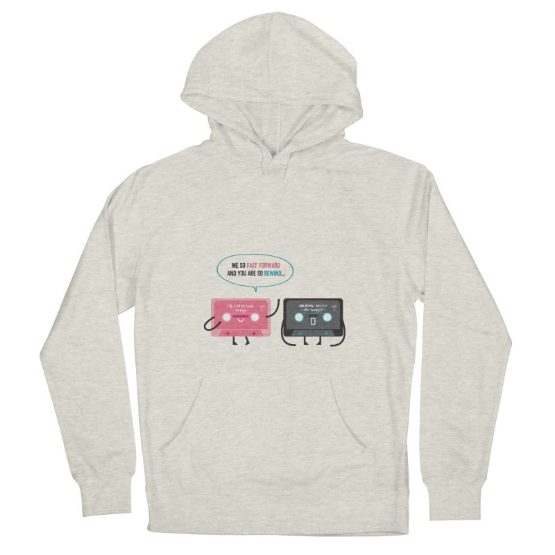 Fast Forward vs Rewind Men's Pullover Hoody by strawberrystyle's Artist Shop