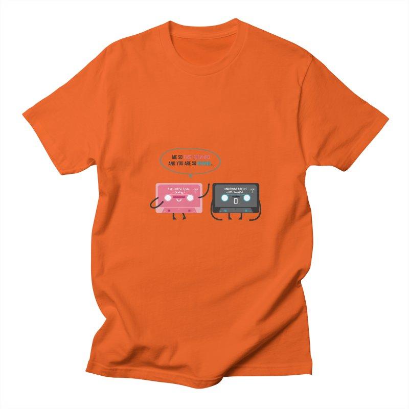 Fast Forward vs Rewind Women's Unisex T-Shirt by strawberrystyle's Artist Shop
