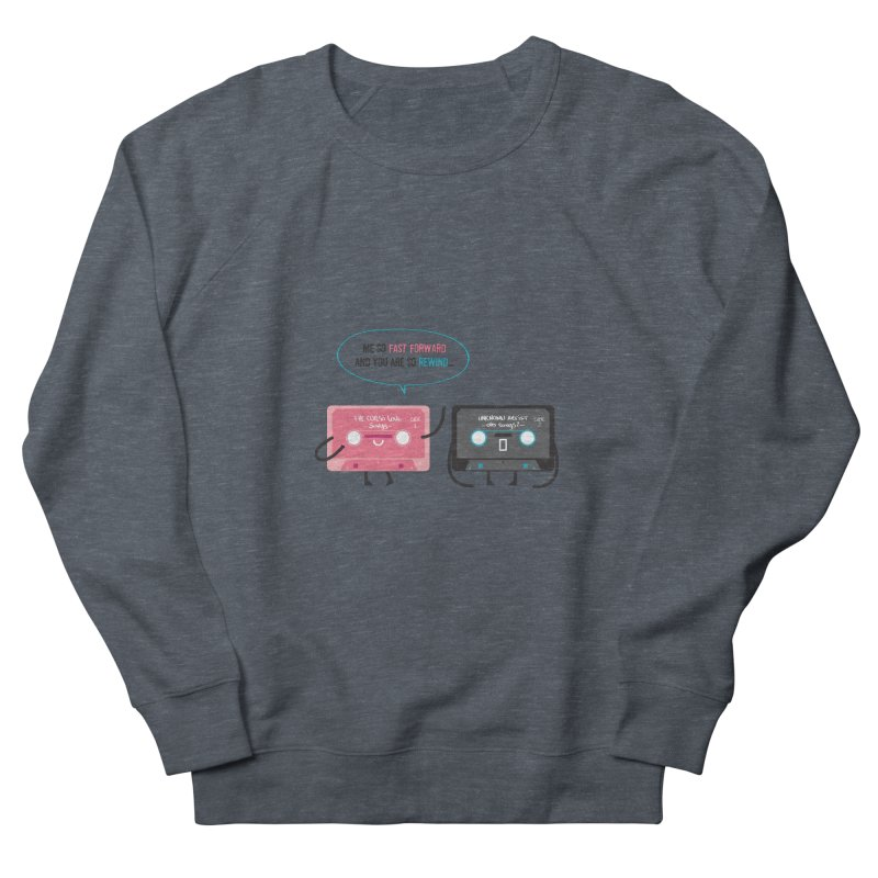 Fast Forward vs Rewind Men's Sweatshirt by strawberrystyle's Artist Shop