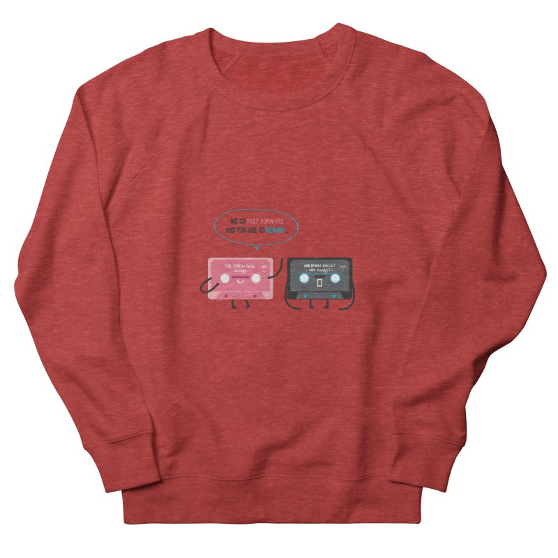 Fast Forward vs Rewind Men's Sweatshirt by strawberrystyle's Artist Shop